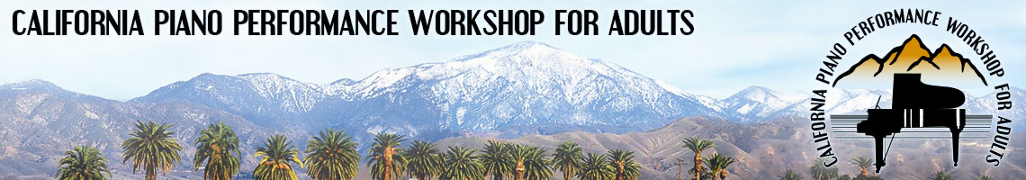 California Piano Performance Workshop for Adults
